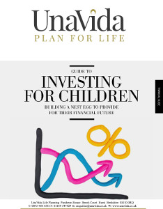 Investing for Children Guide Front Cover - Unavida Life Planning