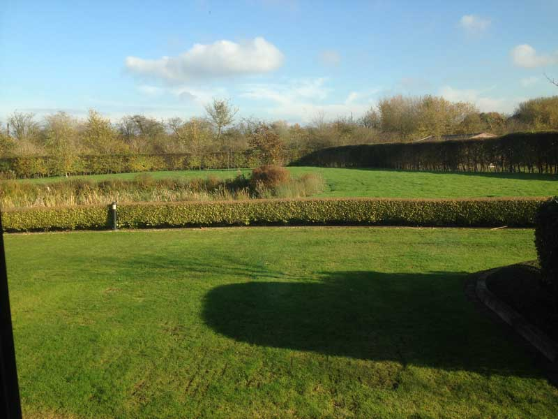The view from our offices in idyllic Hurst, Berkshire
